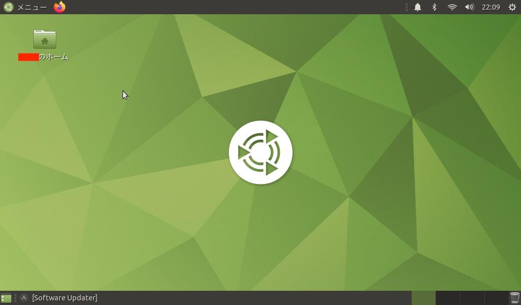 UbuntuMateホーム