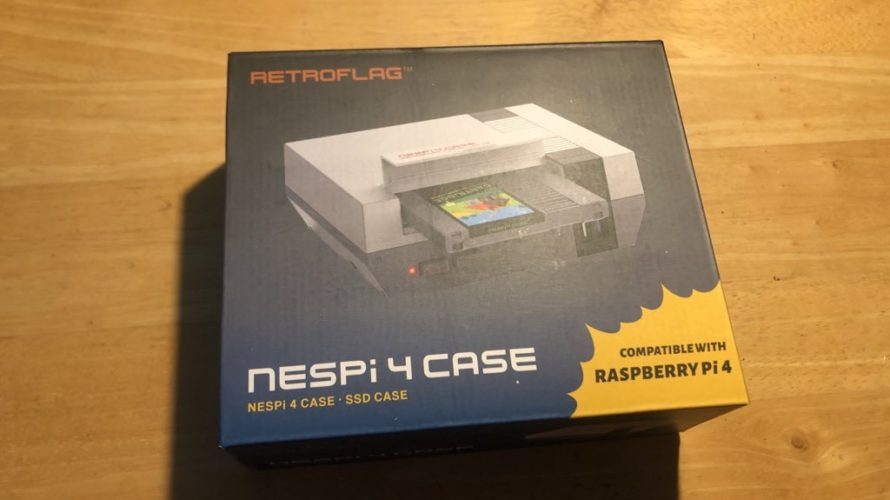 RETROFLAG Raspberry Pi 4 NESPi 4