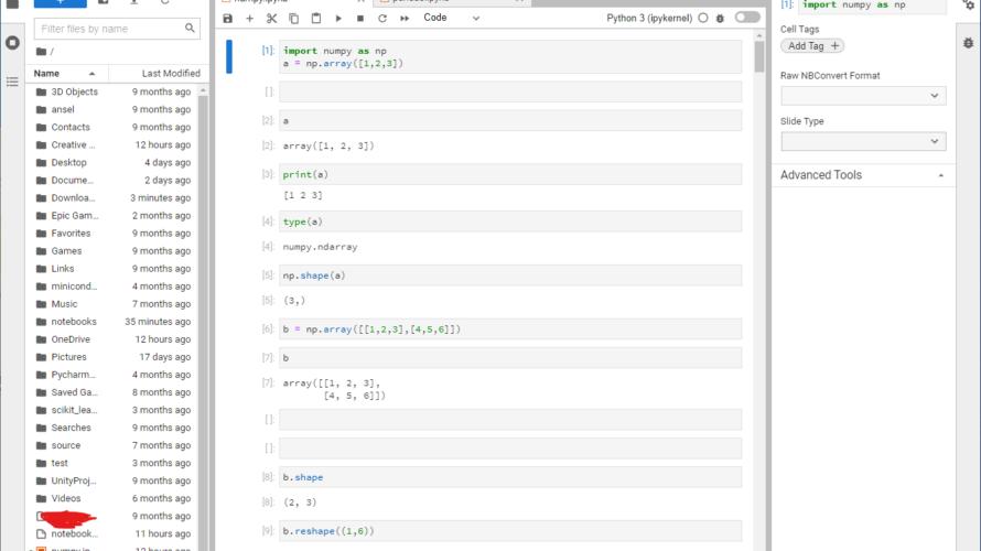 添付ファイルの詳細 JupyterLab-Desktop